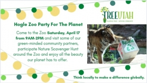 Earth Day with Hogle Zoo