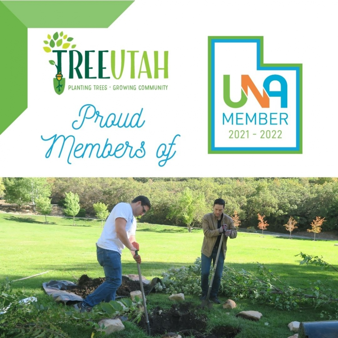 "TreeUtah UNA Membership Anniversary! ""We are the people. We are the air. We are the earth."""